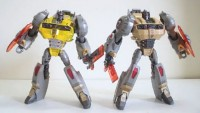 Transformers News: Video Review: Transformers Platinum Edition Voyager Grimlock