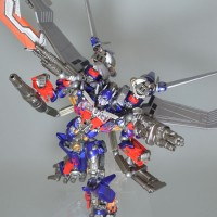 Transformers News: Official Images: Sci-Fi Revoltech #40 Optimus Prime DX
