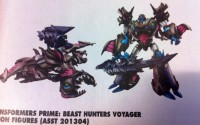 Transformers News: Transformers Prime Beast Hunters Megatron Final Colours