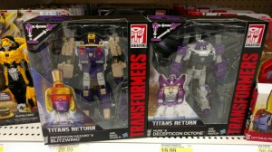 Transformers Titans Return Octone and Blitzwing found at US retail