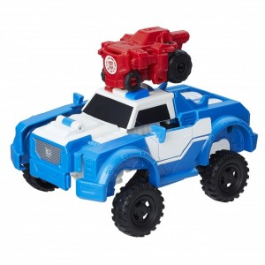 Transformers News: Robots in Disguise Activator Combiners Strongarm with Trickout and Bumblebee with Stuntwing