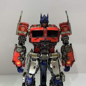 New Images Of 3A Bumblebee Movie Optimus Prime Figure