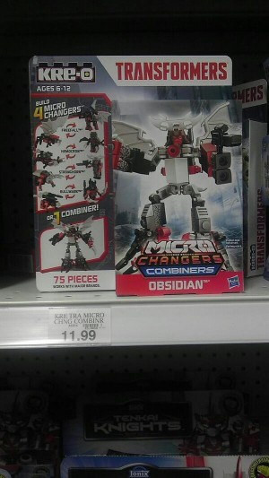 Kre-O Micro Changer Combiners Obsidian and Volcanicon Sighted at US Retail