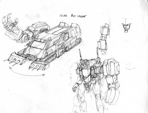 Transformers News: Alex Milne Further IDW DJD Concept Art