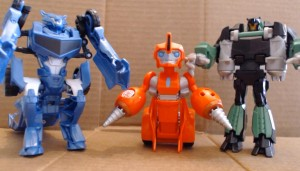 Video Review - Transformers Robots in Disguise One-Step Changers Wave 2: Grimlock, Steeljaw, Fixit