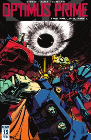 Transformers News: Full Preview for IDW Transformers Optimus Prime #15