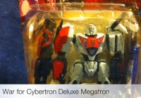 Video Review of War For Cybertron Megatron