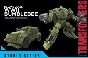 Transformers News: Official Images - Transformers Studio Series WWII Bumblebee, Sideswipe, Barricade, Clunker Bumblebee, Crankcase