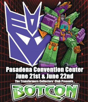 BotCon 2014 Schedule of Events and Panels Now Posted