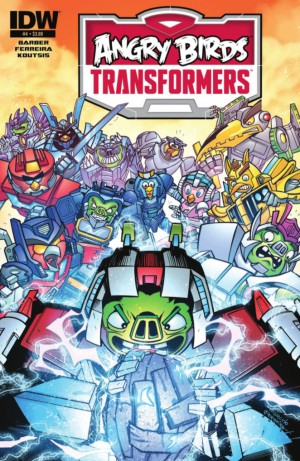 IDW Angry Birds Transformers #4 (of 4) Full Preview