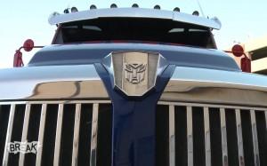 Optimus Prime Taxi Prank - Transformers: Age of Extinction