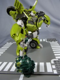 Additional Images of Takara Transformers Prime AM-10 Bulkhead, AM-11 Arcee, and EZ-10 Star Hammer with Wheeljack