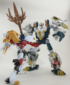 Transformers Generations Selects God Neptune New Images with MP-48 Lio Convoy