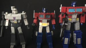 Video Reviews of Transformers RED Wave 1