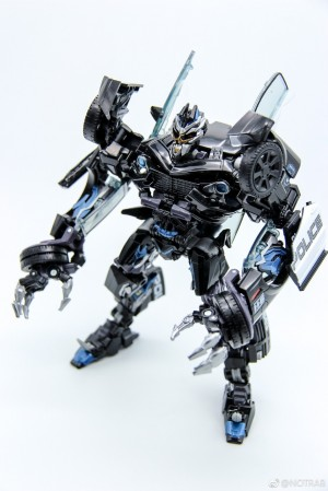 Transformers News: Video Review for Transformers Movie Masterpiece MPM-5 Barricade