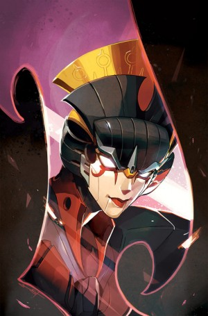 Transformers News: Interview with Transformers: Windblade's Mairghread Scott & Sarah Stone - Clean Version of Issue #1 Subscription Exclusive Cover