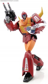 Transformers News: New Toy Galleries: Masterpiece Rodimus Prime and Offshoot