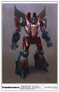Transformers News: Transformers - War For Cybertron Profile: Starscream