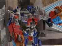 Transformers News: SDCC 2012 Coverage: Transforme​rs Movie Universe Products including Jetwing Optimus Prime