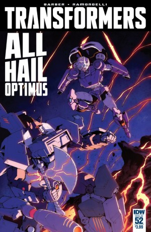Transformers News: IDW The Transformers #52 Full Preview