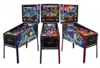 Transformers News: STERN Pinball Transformers LE Pinball Machines: Images and Demo Videos