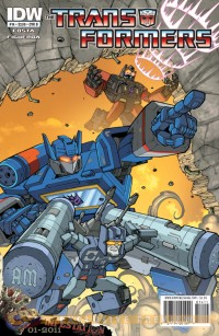 Transformers News: Transformers: Ongoing #14 Five-Page Preview