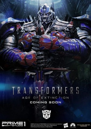Transformers News: Prime 1 Studio Age Of Extinction Optimus Preview Image With Info