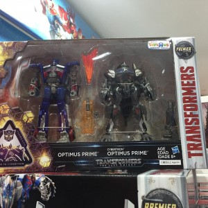 Transformers News: Mission to Cybertron Transformers: The Last Knight Optimus Two-Pack Sighted at Singapore Retail