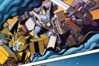 Sneak Preview of Transformers: Infestation #1