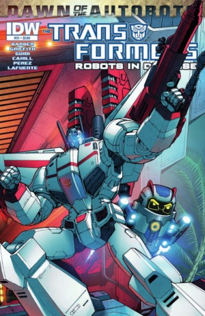 Transformers News: IDW Transformers: Robots in Disguise #31 (Dawn of the Autobots) Preview
