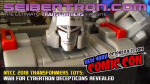 Transformers News: Gallery and Video of Transformers War for Cybertron: Siege Display from #NYCC 2018