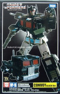 Transformers News: MP-01B Black Convoy Now Available at RobotKingdom - Clearer Pictures of Exclusive Gift