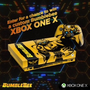 XBox One X Transformers Bumblebee Contest Announced