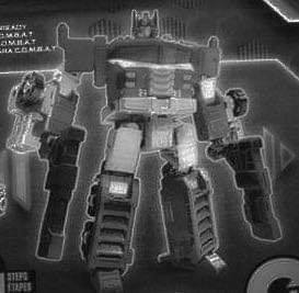 Transformers News: Leaked image of inner robot of WFC Siege Leader Optimus Prime (Galaxy Convoy)