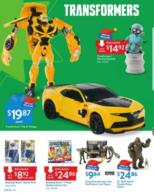 Transformers News: Transformers The Last Knight toys featured in the Wal-Mart Holiday Toy Book