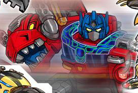 Transformers News: Transformers: Rescue Bots Art from Marvin S. Mariano Featuring Optimus Primal