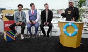 Transformers News: Transformers Bumblebee Movie Interview with Cast and Director Travis Knight #SDCC2018 #JoinTheBuzz