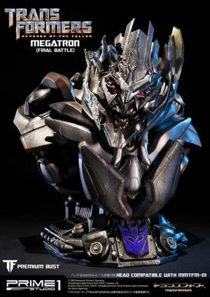 """Transformers News: Prime 1 Studios """"Final Battle"""" Megatron Bust"""