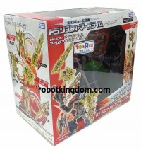 "Transformers News: Takara Tomy Transformers Prime Aeon Exclusive Terrocon Bumblebee and Toys""R""Us Japan Exclusive Battle Shield Optimus Prime In-Package Images"