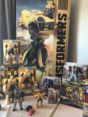 Transformers News: Hasbro Reveals New Bumblebee Movie Blitzwing, Cliffjumper and Dropkick Toys