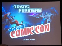 Transformers News: Hasbro's Transformers NYCC 2012 panel text and gallery