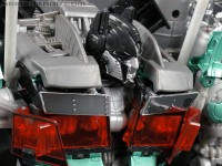 Transformers News: New Toy Galleries: DOTM Jetwing Optimus Prime Standard and Black Versions