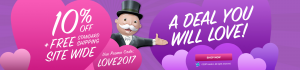 Steal of a Deal: Hasbro Toy Shop Valentine's day sale!
