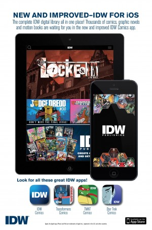 IDW Publishing Launches All-New Comic Apps, featuring Transformers, TMNT and More