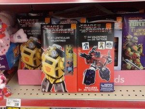G1 Transformers Valentines Appearing At Retail