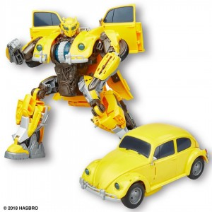 Transformers News: First Transformers Bumblebee Movie Power Charge Toy Revealed #HasbroSDCC