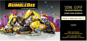 A Festive 15% Off Promo From Hasbro Toy Shop