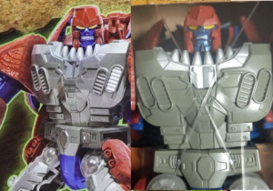 Back of T-Wrecks Box Shows Different Headsculpt from Actual Toy