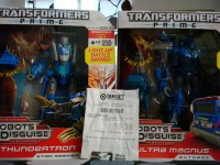 Transformers News: Transformers Prime Voyagers Ultra Magnus and Thundertron Sighted at Retail