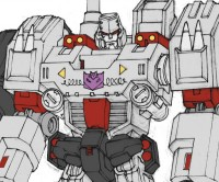 Transformers News: Transformers: Robots in Disguise Megatron Rebuilt Concept Art from Andrew Griffith